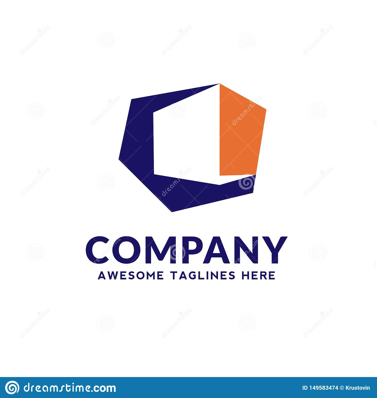 Simple 3d Box For Software App It Logo Design Stock Vector Illustration Of Business Blank 149583474