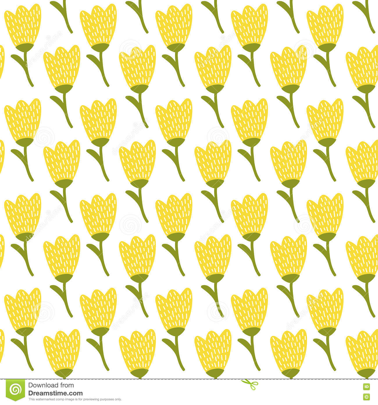 Simple flower pattern background - photo#24