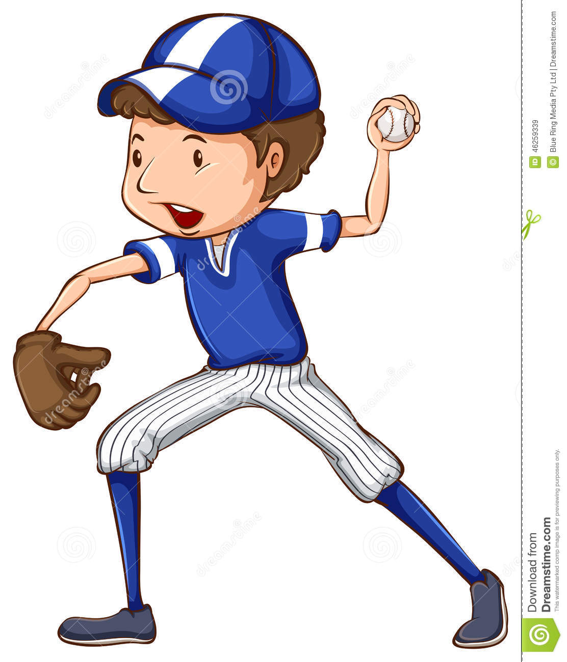 a simple drawing of a baseball player in blue uniform stock vector image 46259339 basketball player vector art basketball player vector art