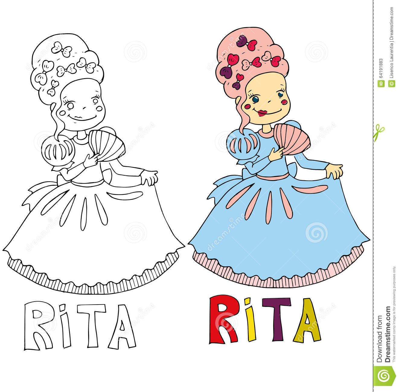 the simple drawing cartoon for coloring image of children with different names in the compatibility with the character - Cartoon Drawing For Children