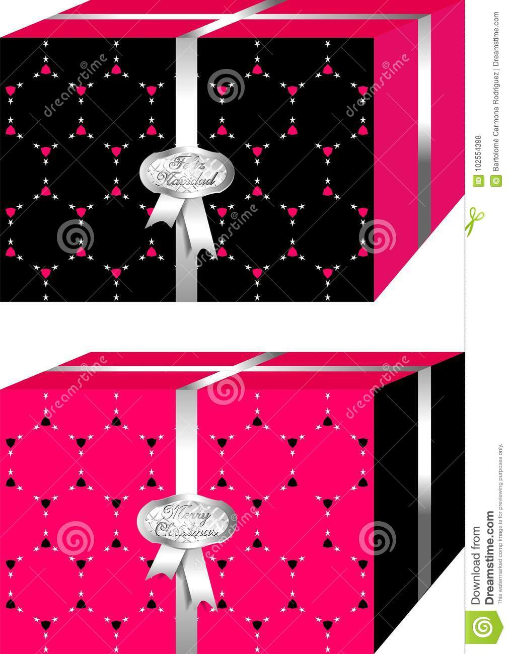 download simple and elegant christmas gifts boxes black and red merry christmas - Simple Christmas Gifts