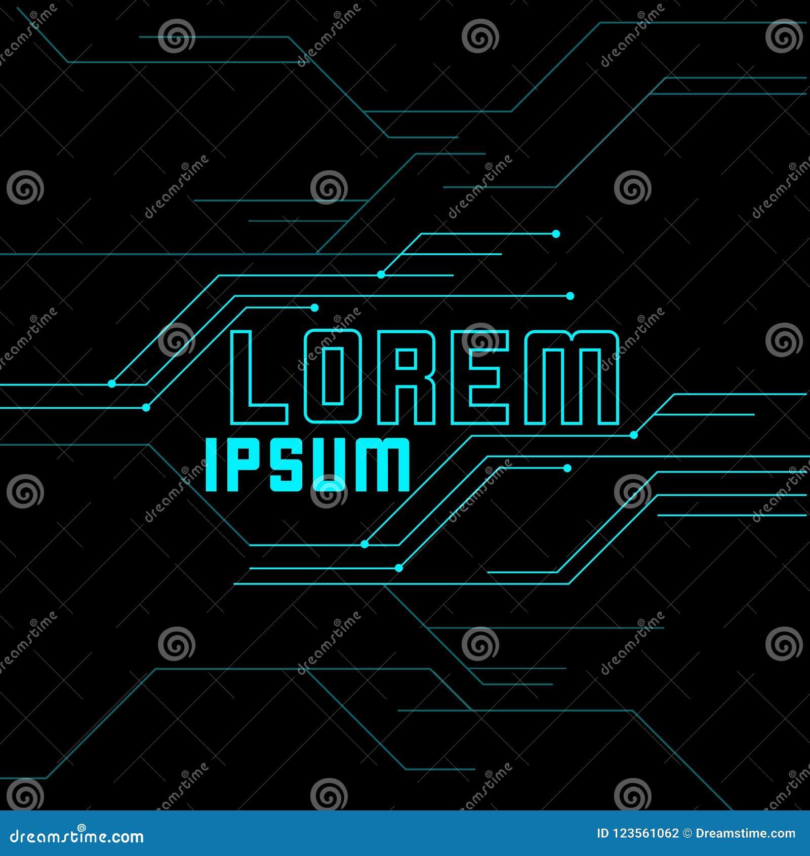 Simple Elegant Modern Background Stock Vector Illustration Of