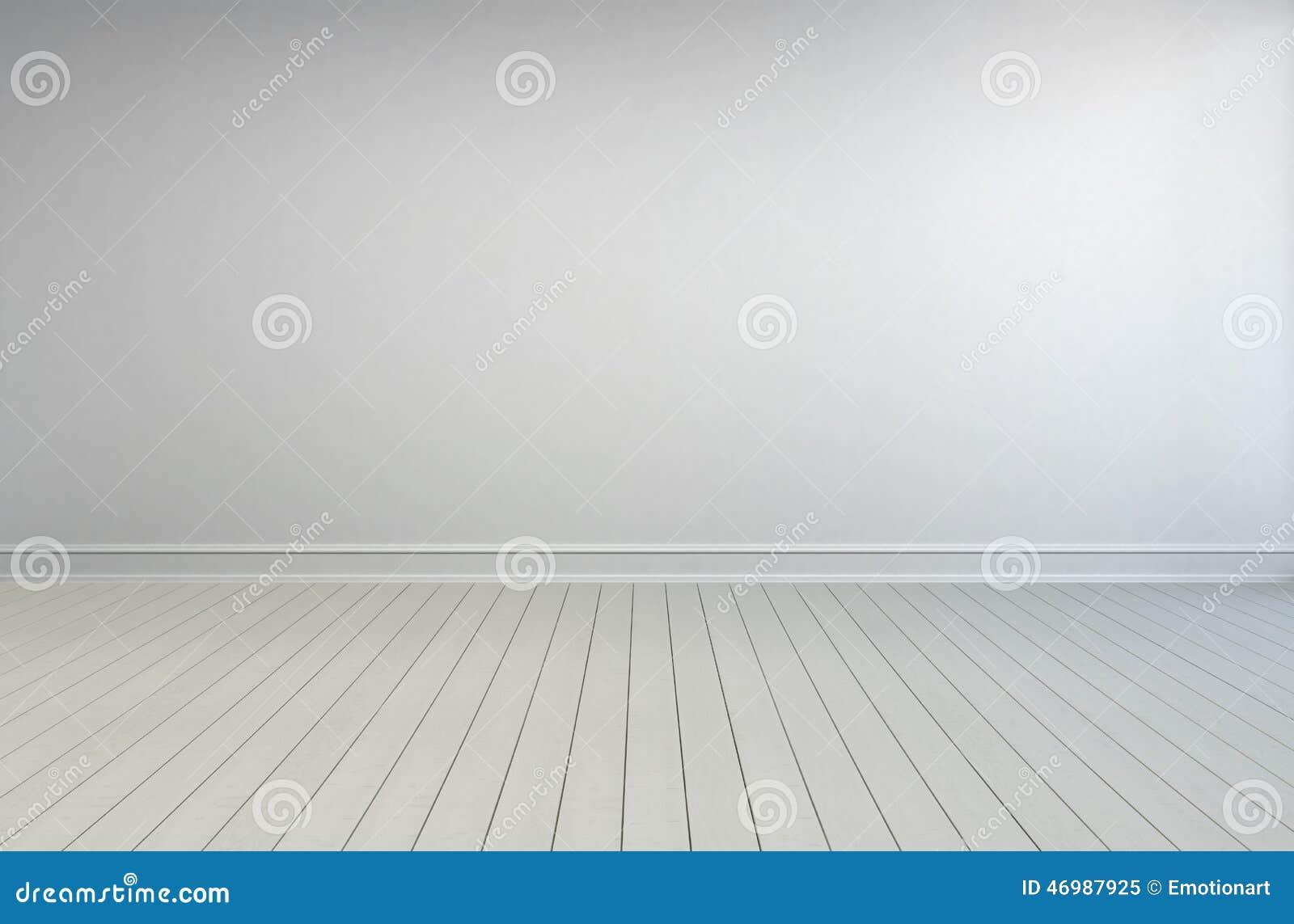 Simple Empty White Room Interior Stock Illustration ...