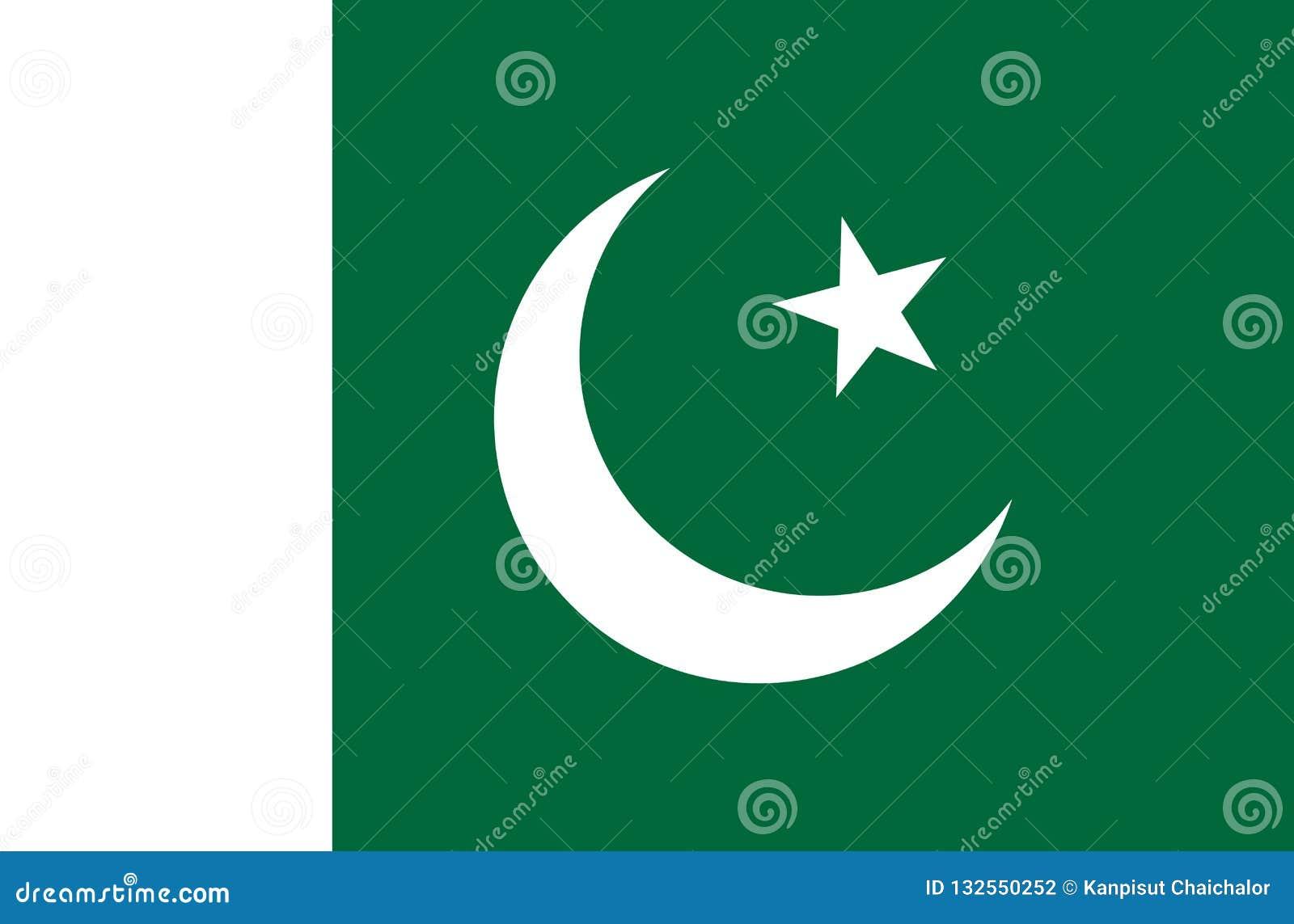 Simple Flag Of Pakistan  Pakistani Flag  Symbol Of