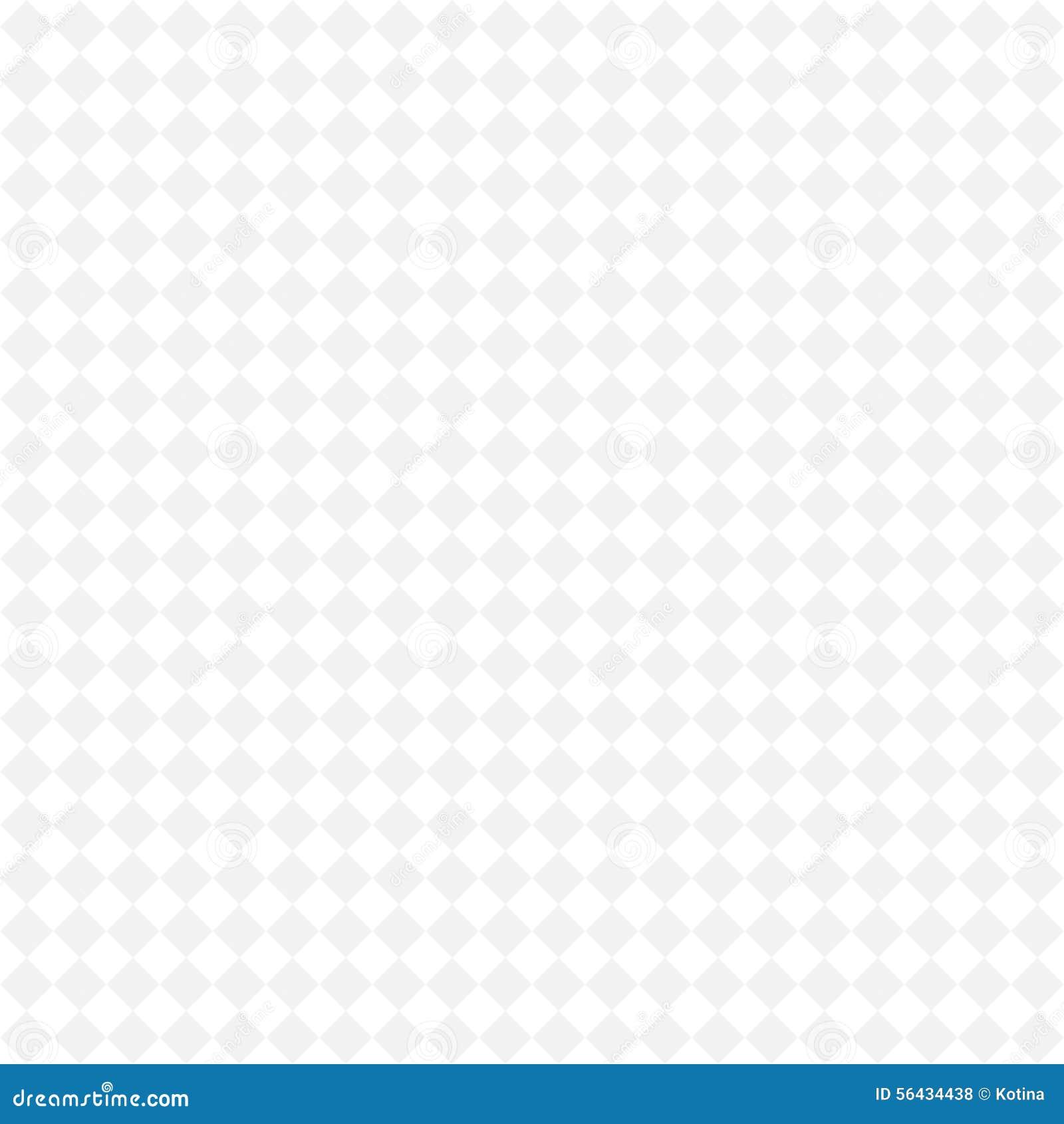 Simple Geometric Monochrome Pattern, Seamless Background