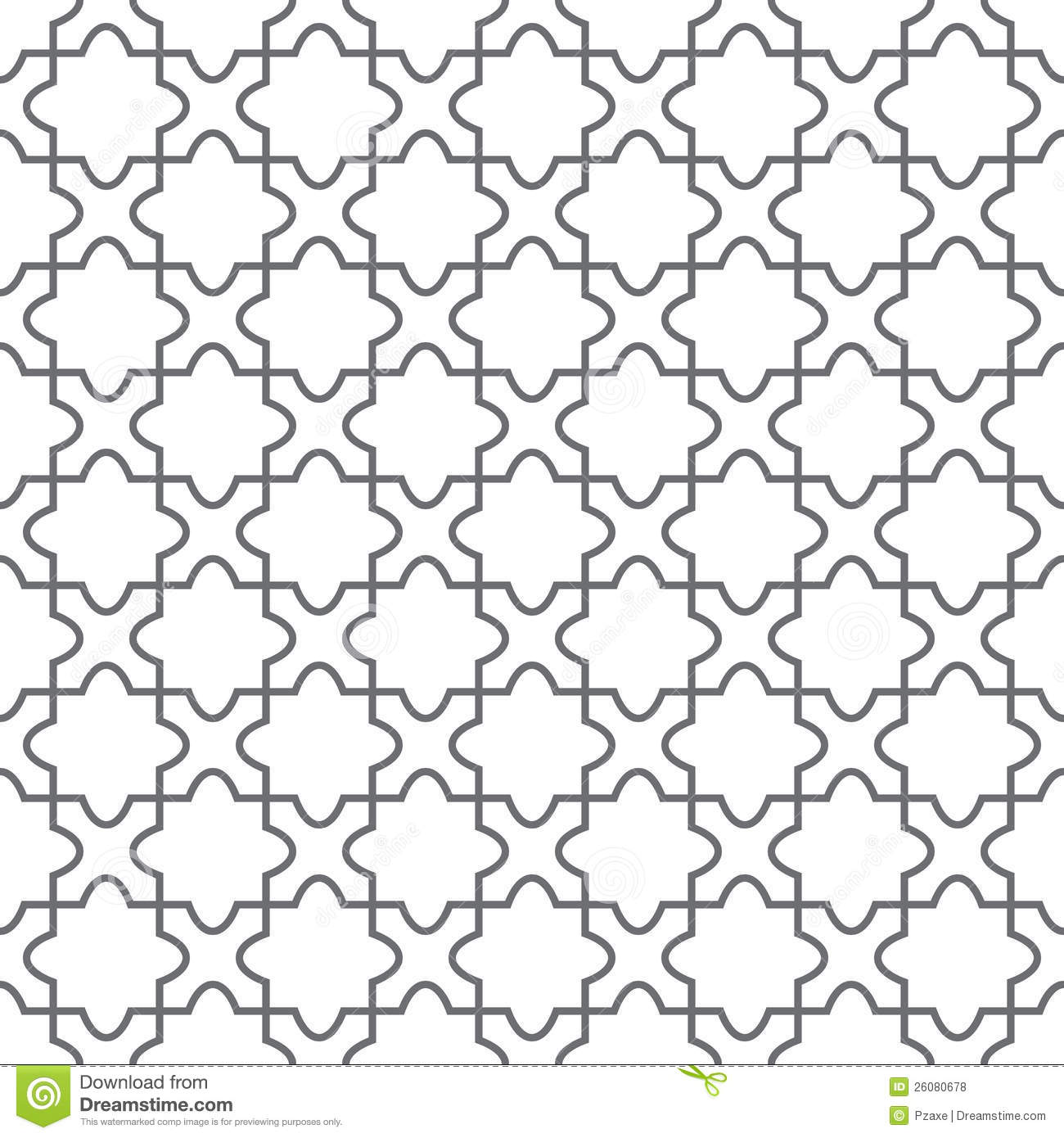 Simple Geometric Vector Pattern Floor Royalty Free Stock Photos