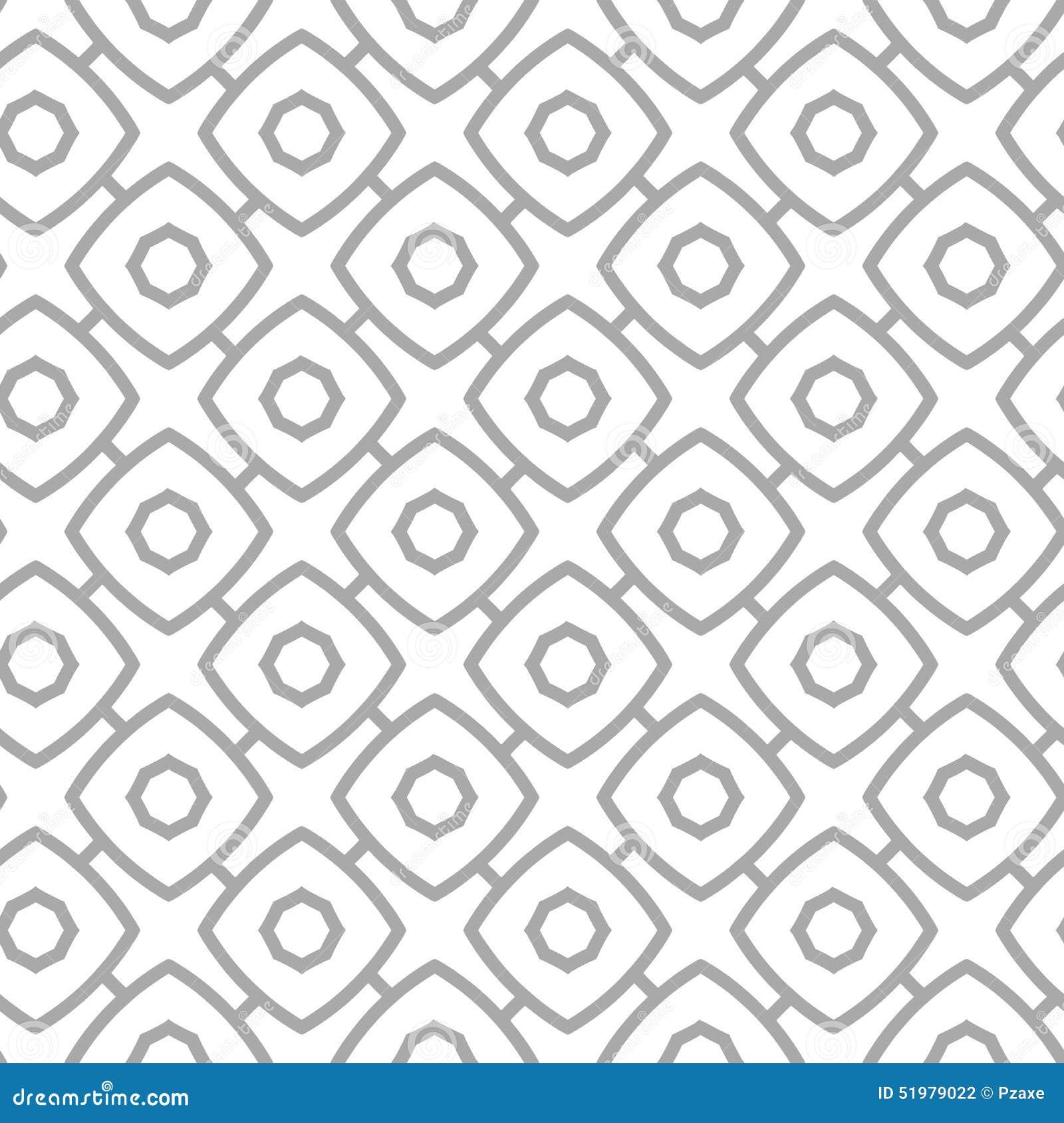 simple geometric vector seamless pattern