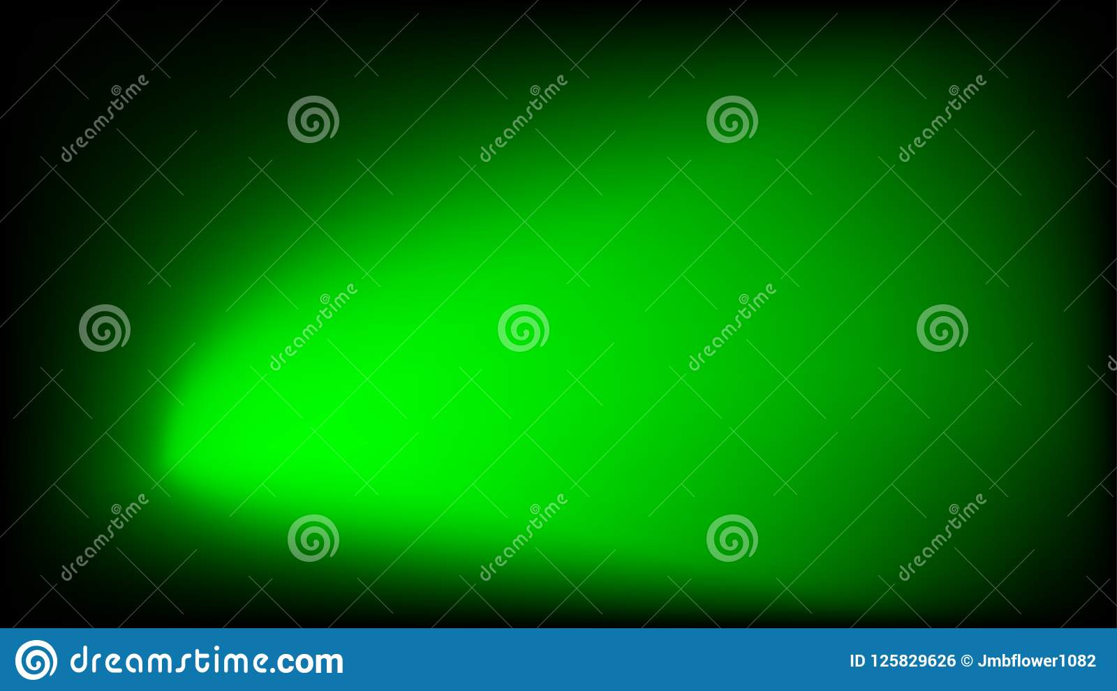 Green And Black Abstract Vector Background Stock Vector
