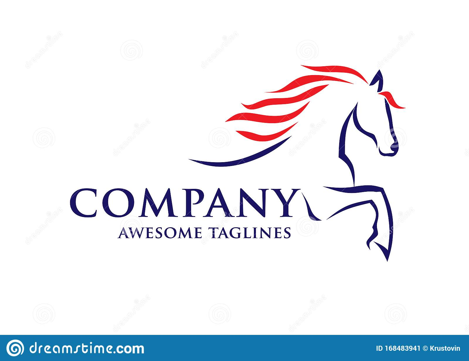 Simple Horse Sketch Racing Logo Template Stock Vector Illustration Of Head Equestrian 168483941