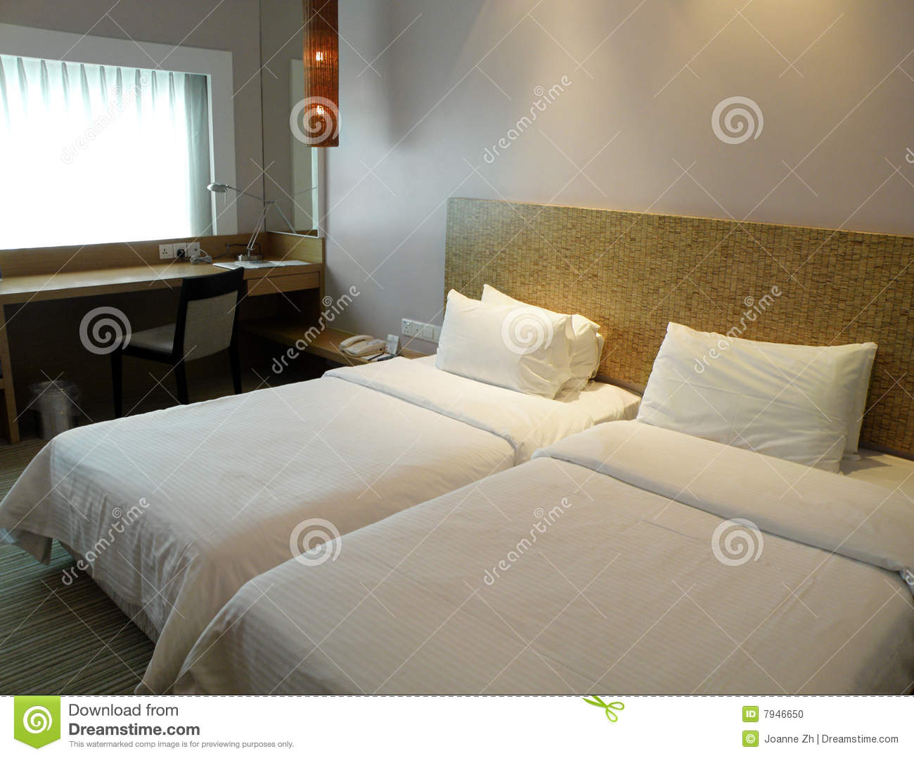 Simple hotel room interior stock photo image 7946650 for Hotel room interior