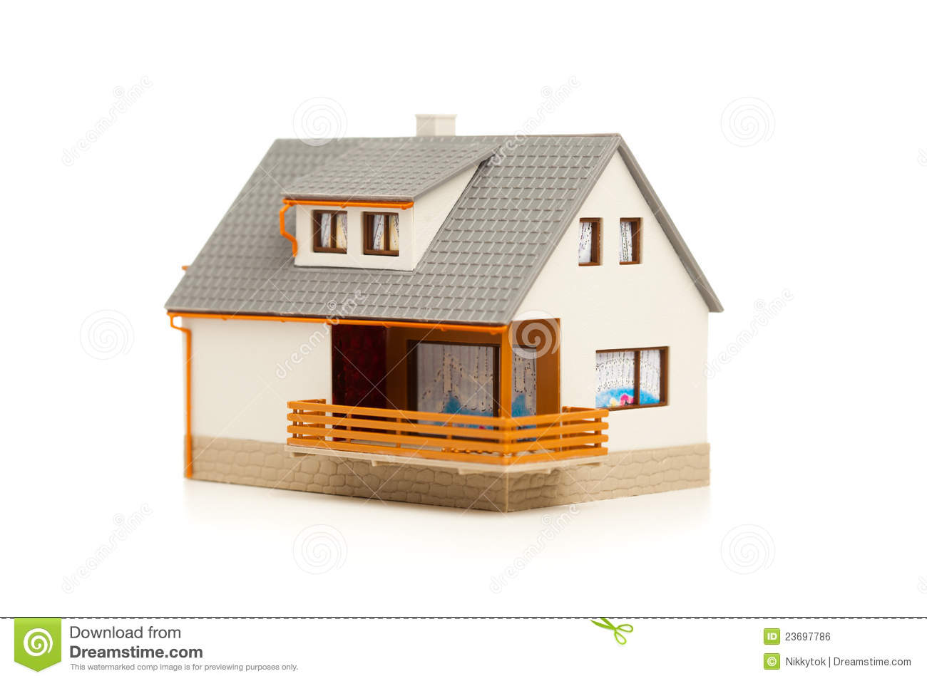 Simple house royalty free stock image image 23697786 for Picture of simple house