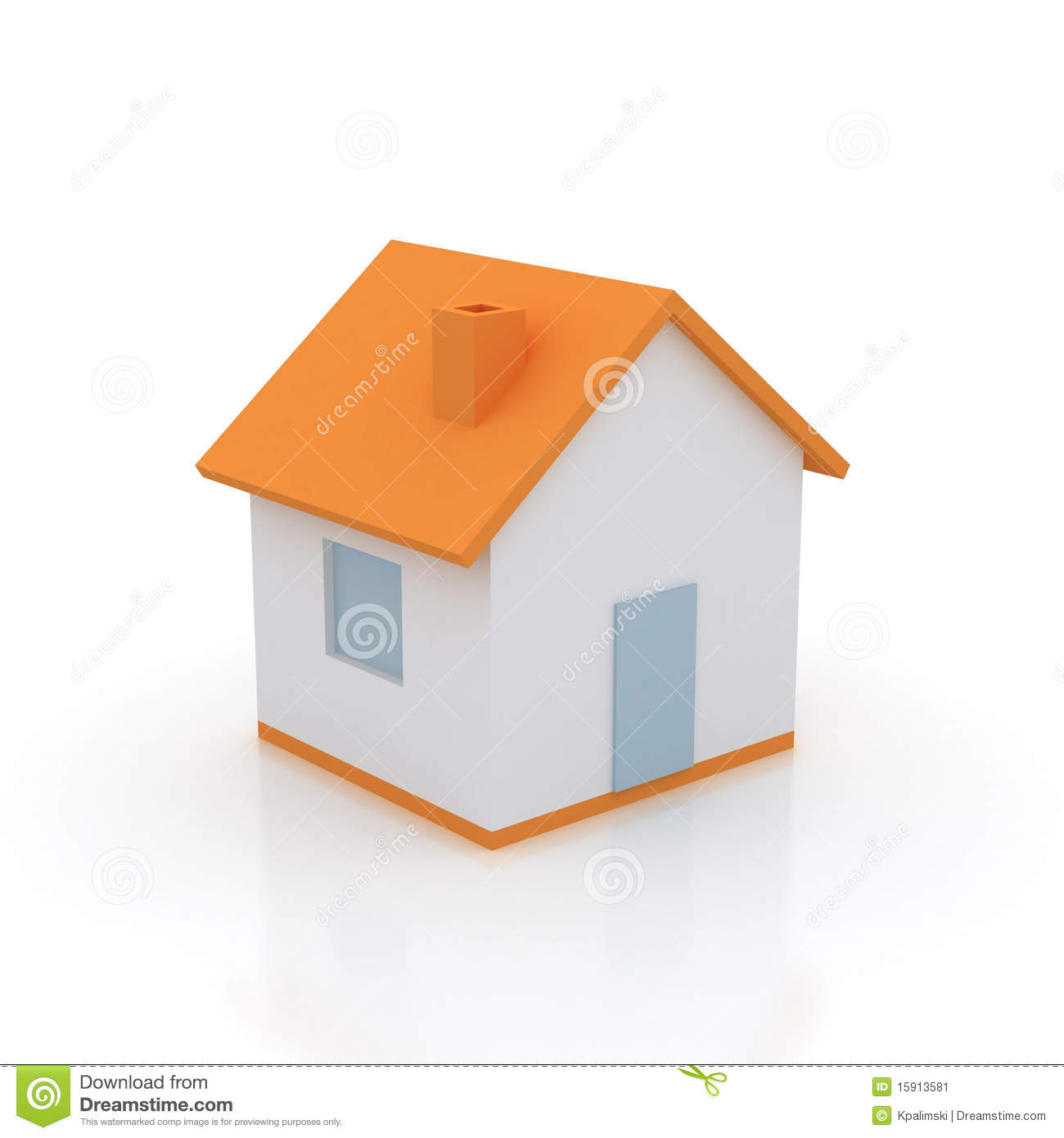Simple house icon. Simple House Icon  Stock Image   Image  15913581