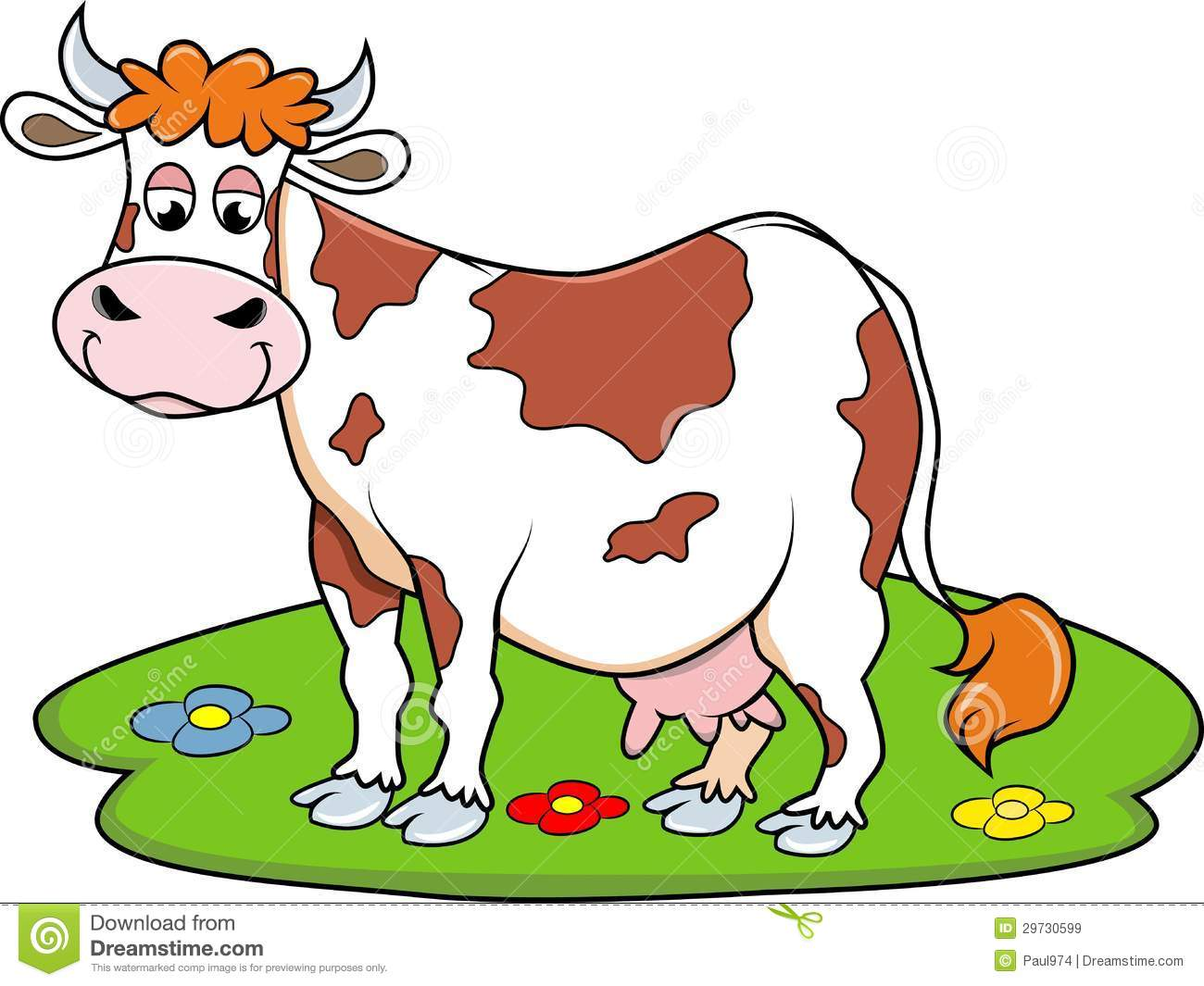 cow clipart simple - photo #46