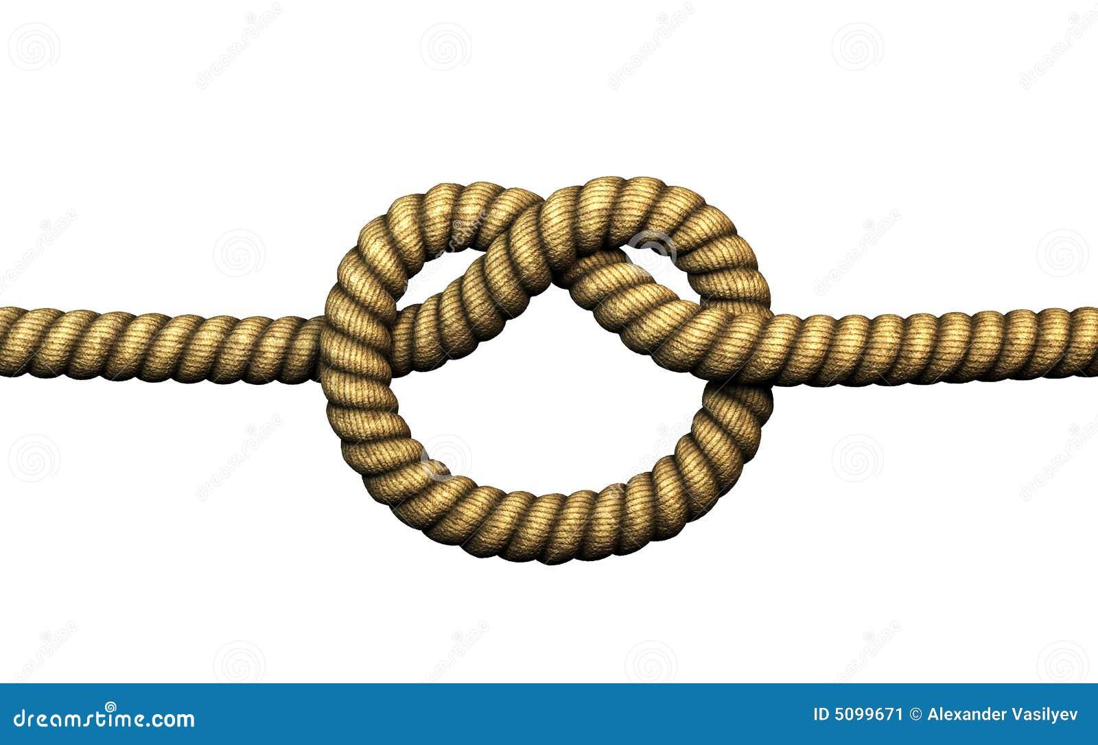 Lasso Clip Art Simple knot stock illu...