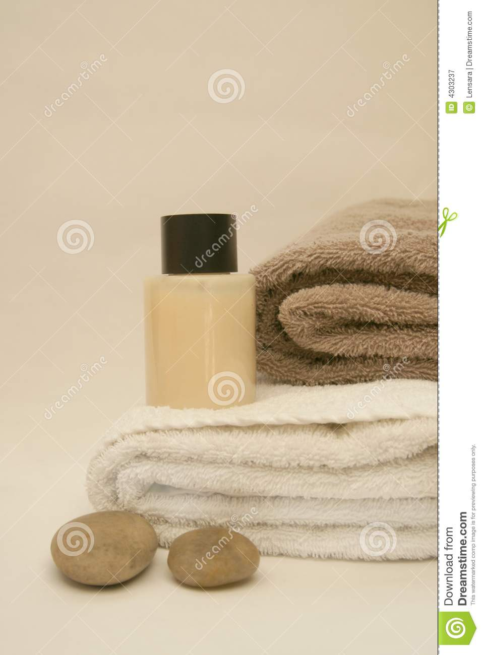 Simple la stone spa royalty free stock photography image for Salon simple