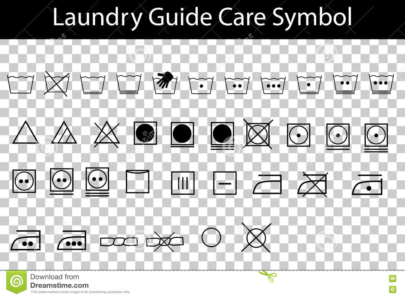 Simple laundry guide symbol at transparent effect background stock simple laundry guide symbol at transparent effect background detergent instruction biocorpaavc Gallery