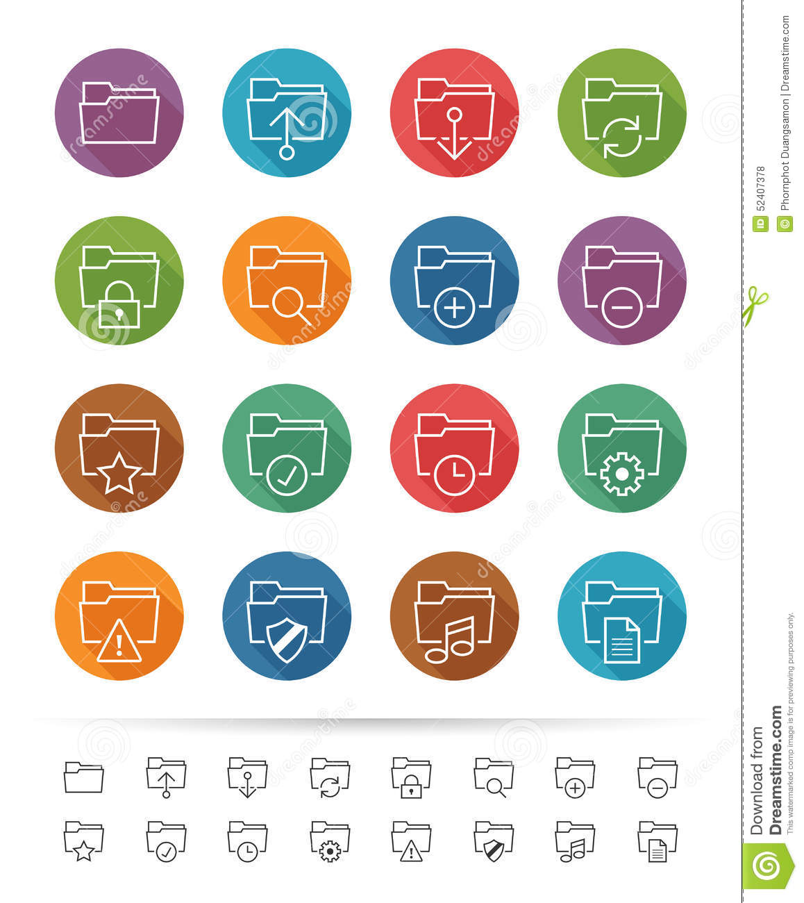 Time And Clock Icons Set, Simple Style Vector Illustration ...