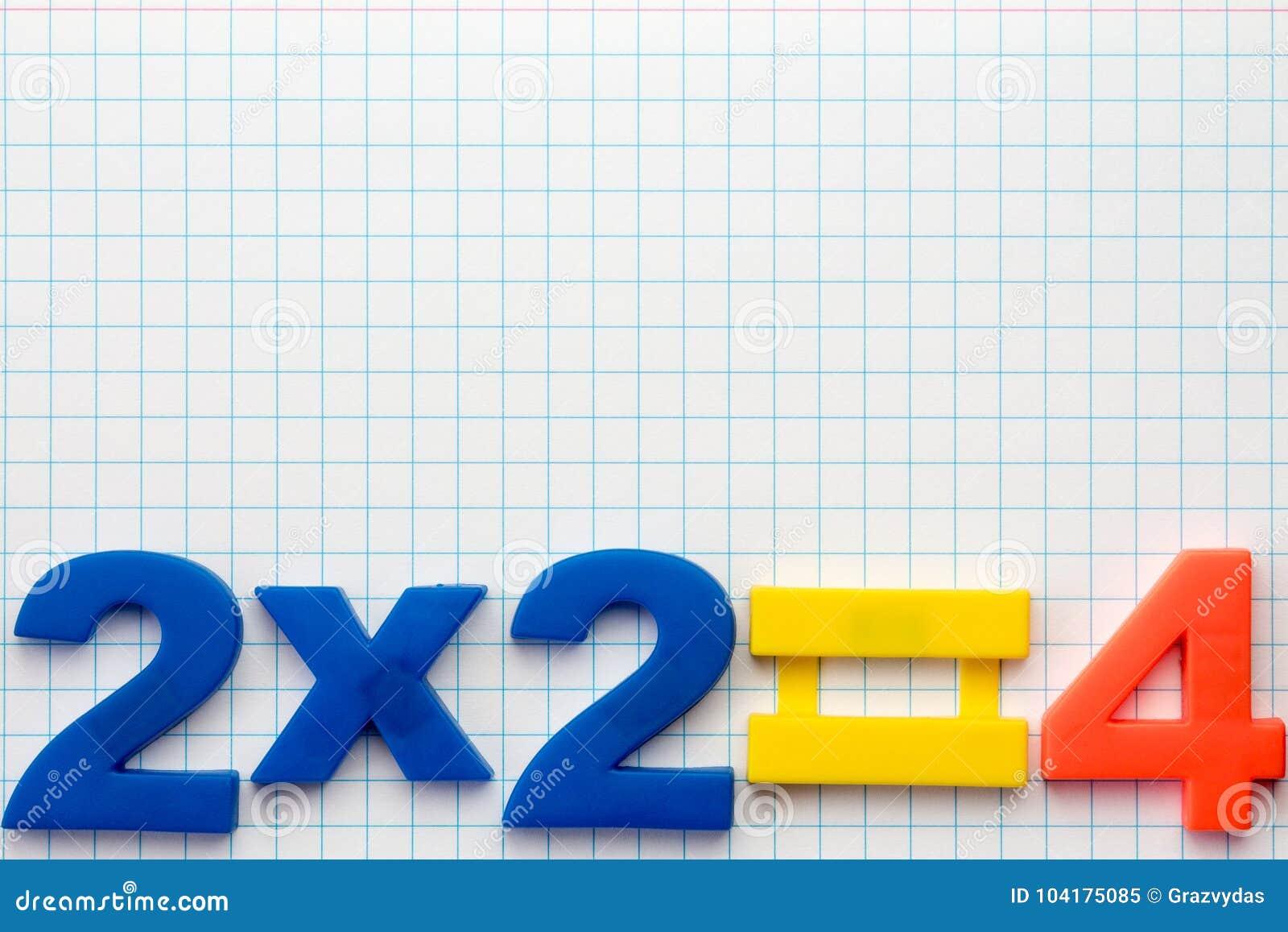 Simple math formula stock image. Image of elementary - 104175085