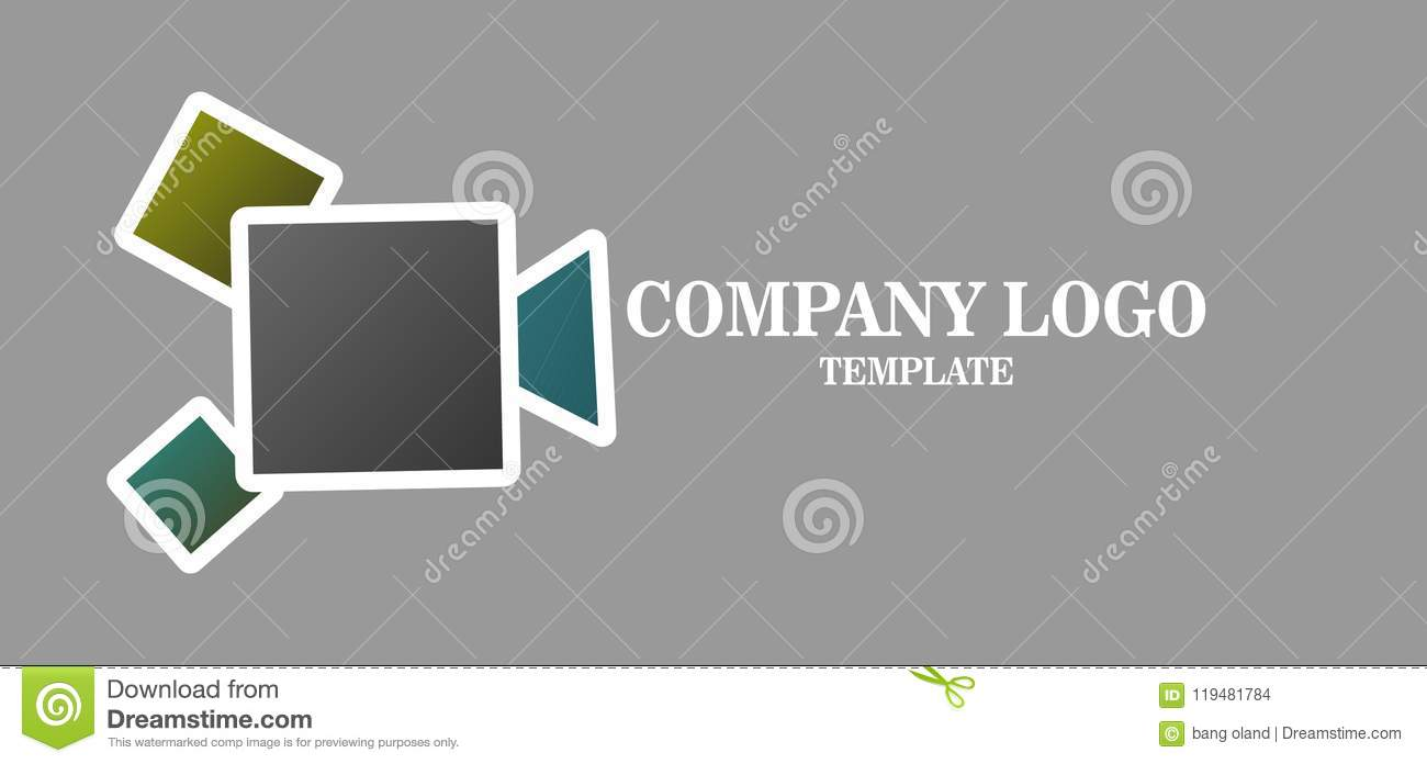 Simple Media Business Logo vector icon. illustration for camera network
