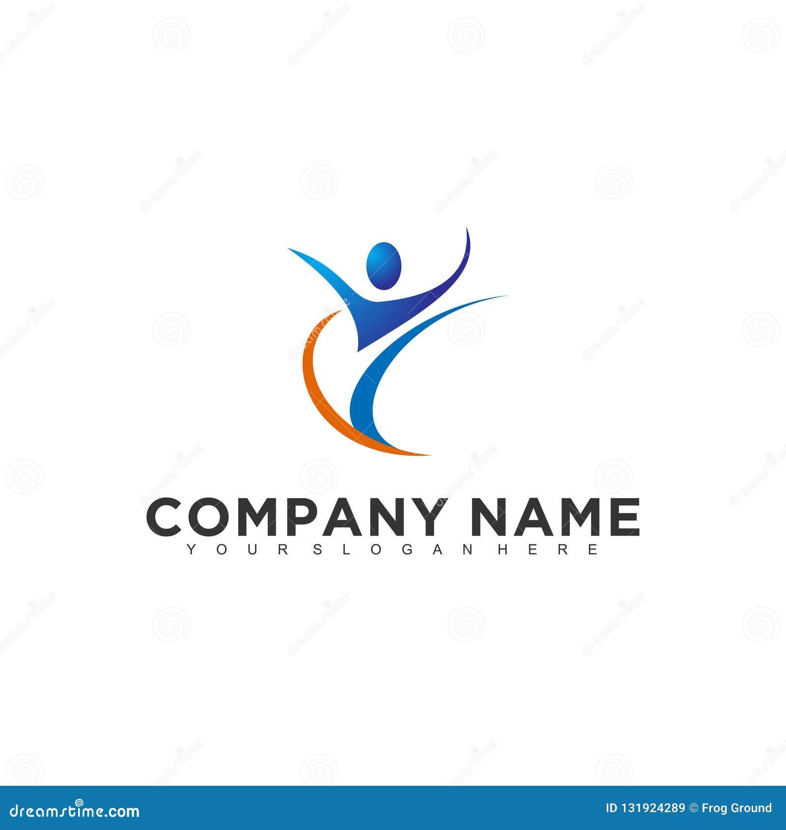 Simple Minimalistic Modern Professional Logo Design Of Nature Medical Vector Eps Illustrator Template Stock Vector Illustration Of Corporate Health 131924289