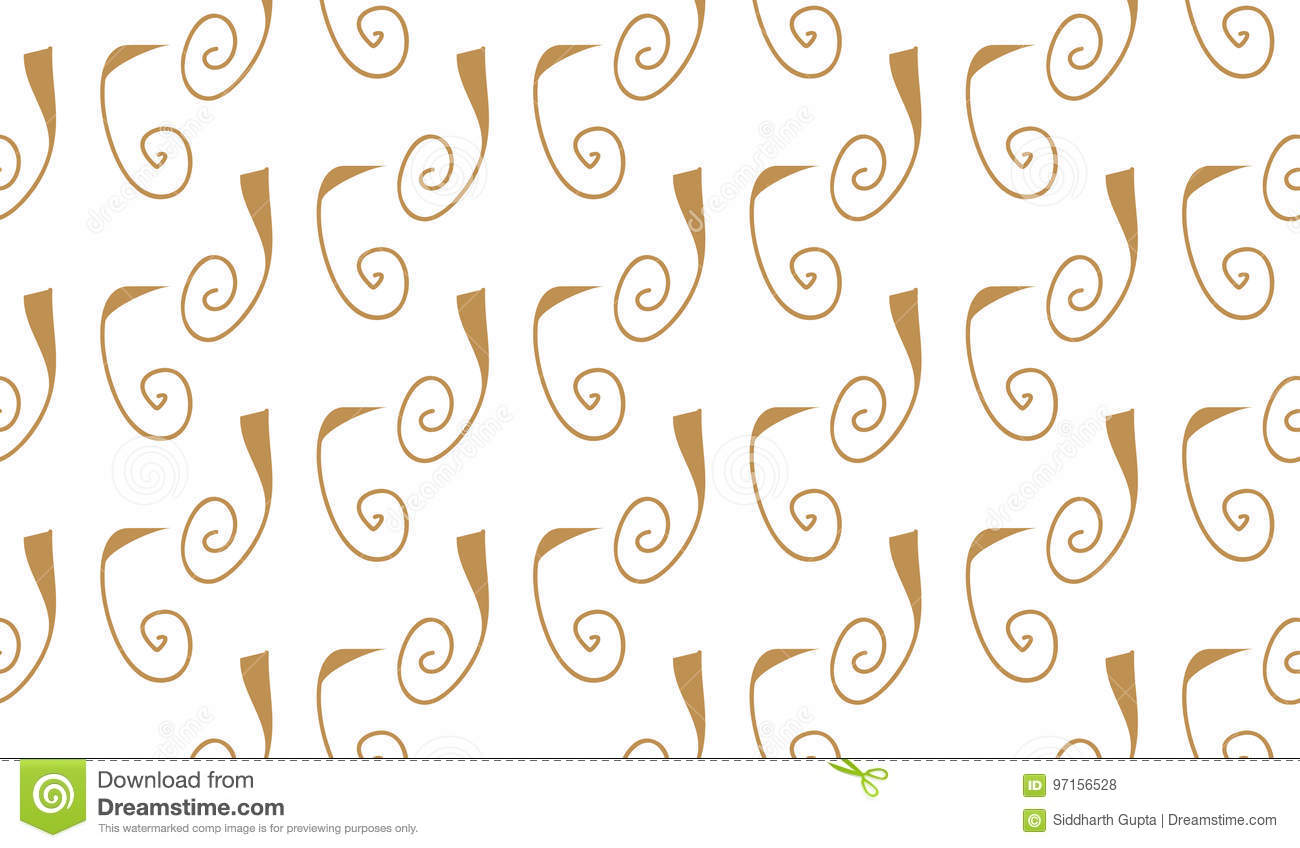 Simple Modern Design Line Wiring Diagrams Continuity Tester For Pcbs Circuit Diagram Tradeoficcom Abstract Brown Curly Lines Pattern Stock Vector Rh Dreamstime Com Kitchenware Designs
