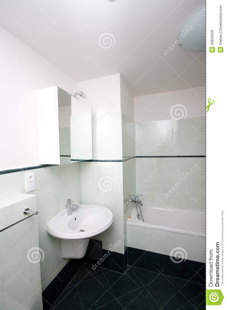 Simple modern bathroom royalty free stock photos image for Modern simple bathrooms