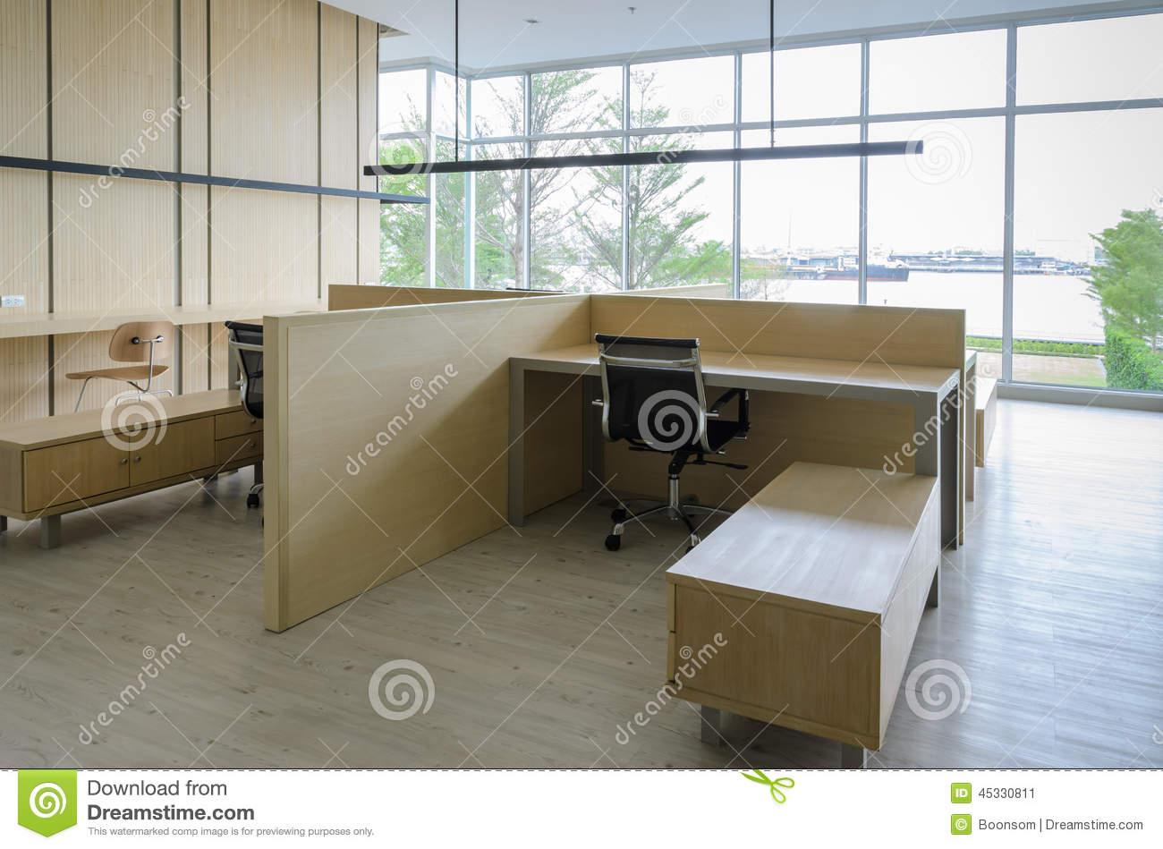 Simple Office Room