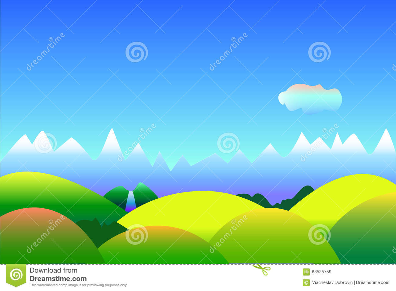 Top Wallpaper Mountain Simple - simple-optimistic-landscape-background-space-text-illustration-blue-green-mountains-hills-wallpapers-68535759  HD_707989.jpg
