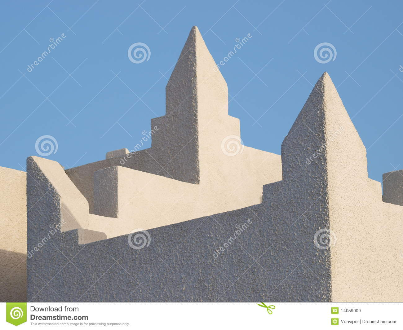 Simple patterns of arab architecture royalty free stock for Architecture simple