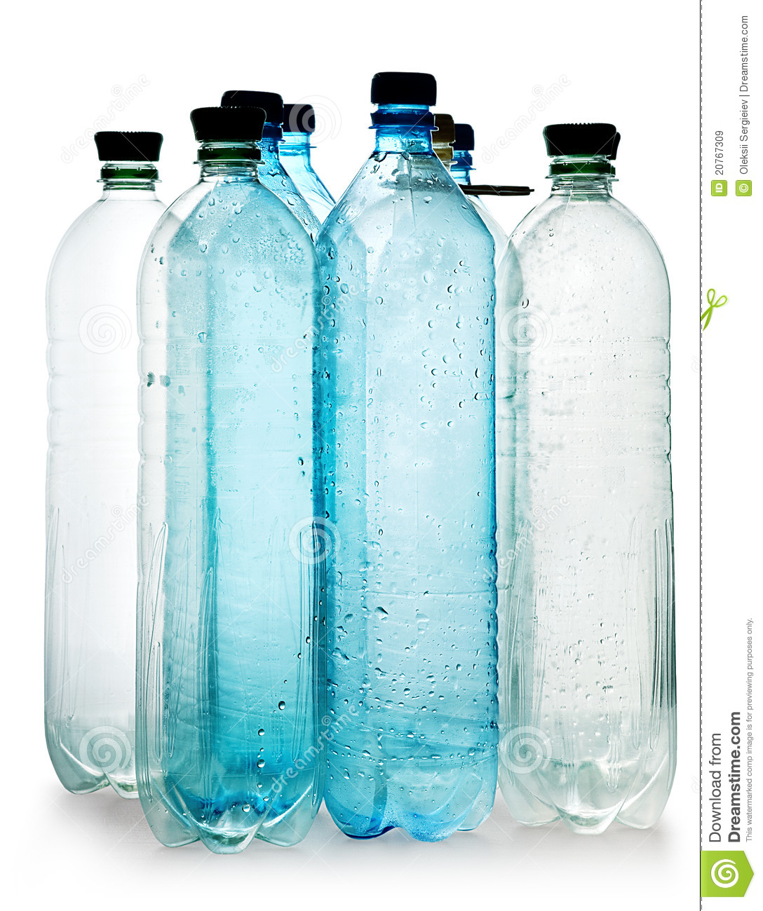 Simple plastic bottles stock image image of object empty for What to do with empty plastic bottles