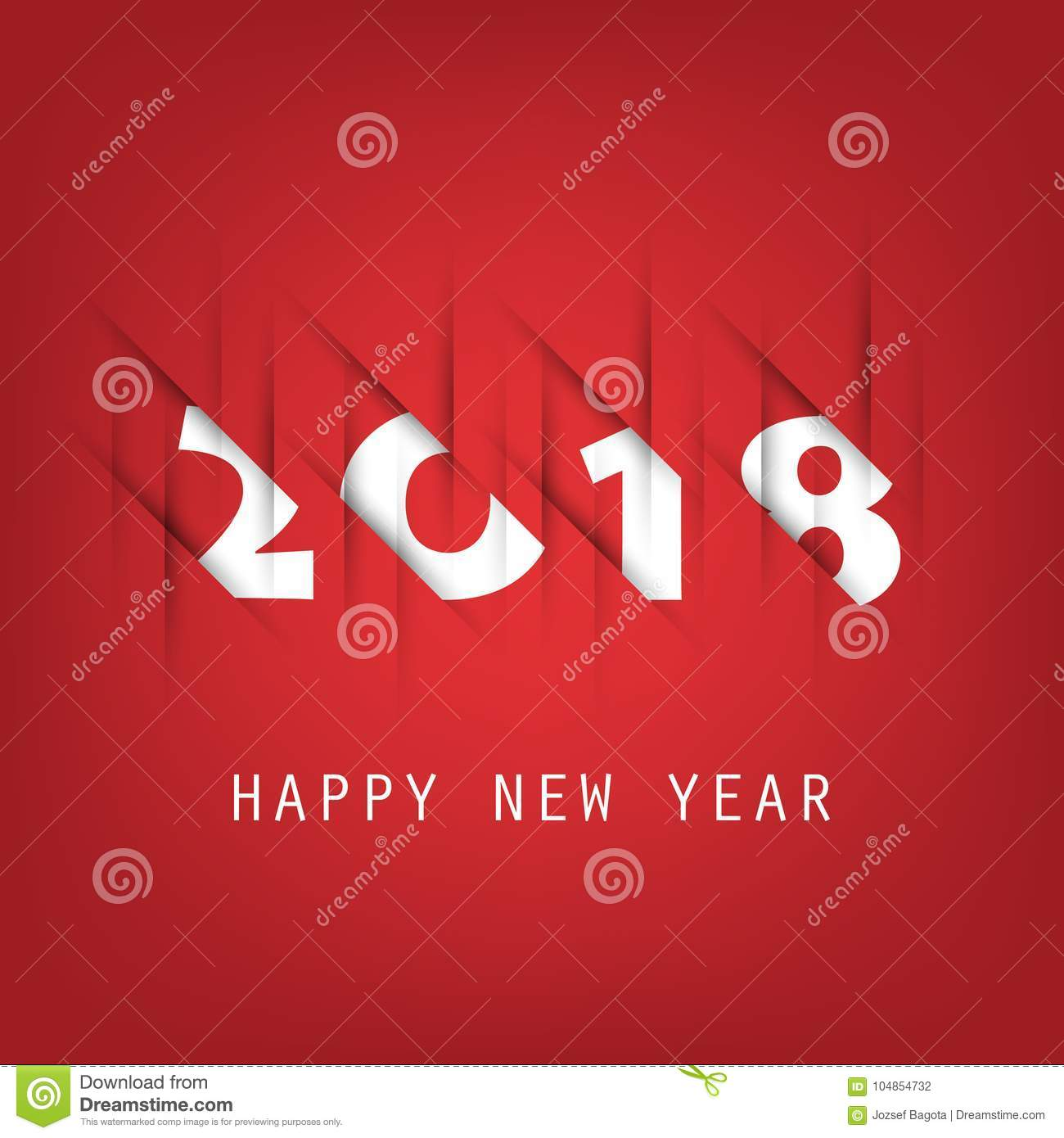 best wishes abstract colorful new year card cover or background design template with numerals illustration in freely scalable and editable vector