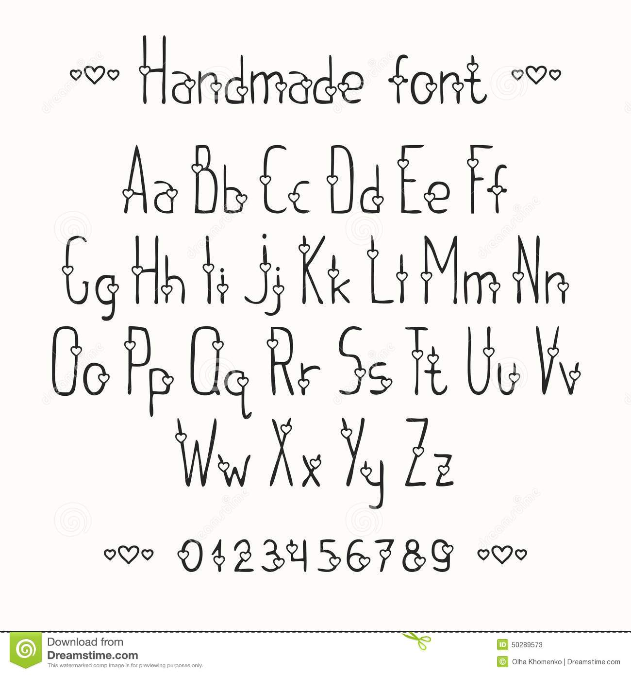 how to write in different fonts by hand