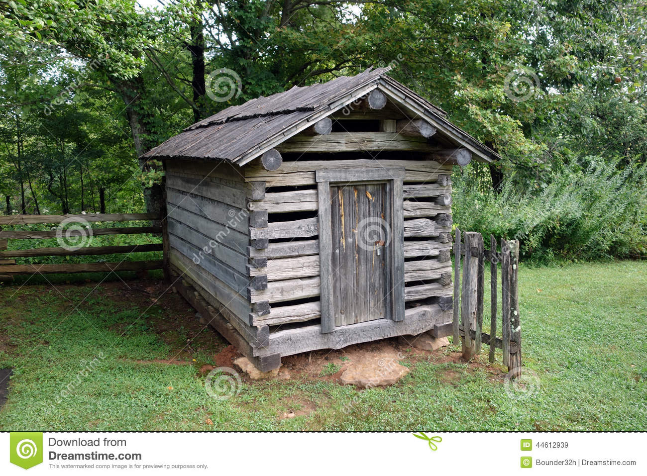 Cottage Garage Plans A Simple Root Cellar From Pioneer Days Stock Image Image