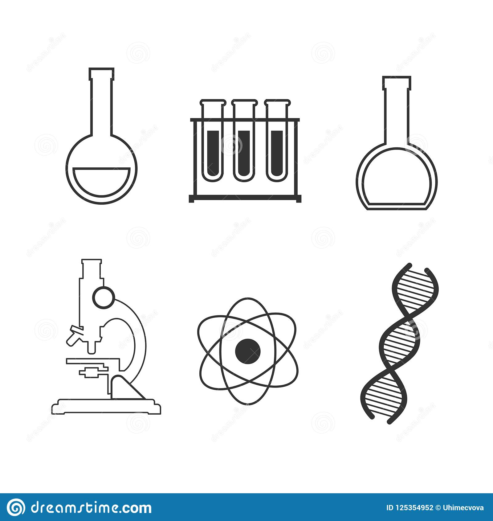 Science Physics From: Science Lab Stock Illustrations