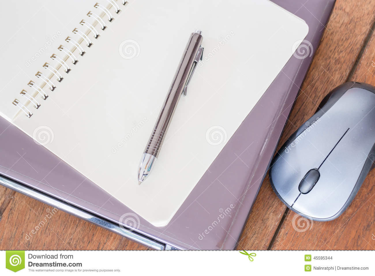 simple stationary on table at workplace stock photo image of