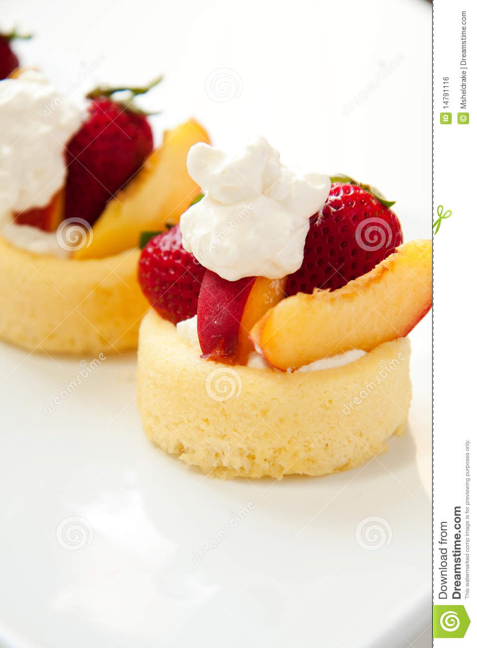 simple summer fruit dessert royalty free stock image image 14791116