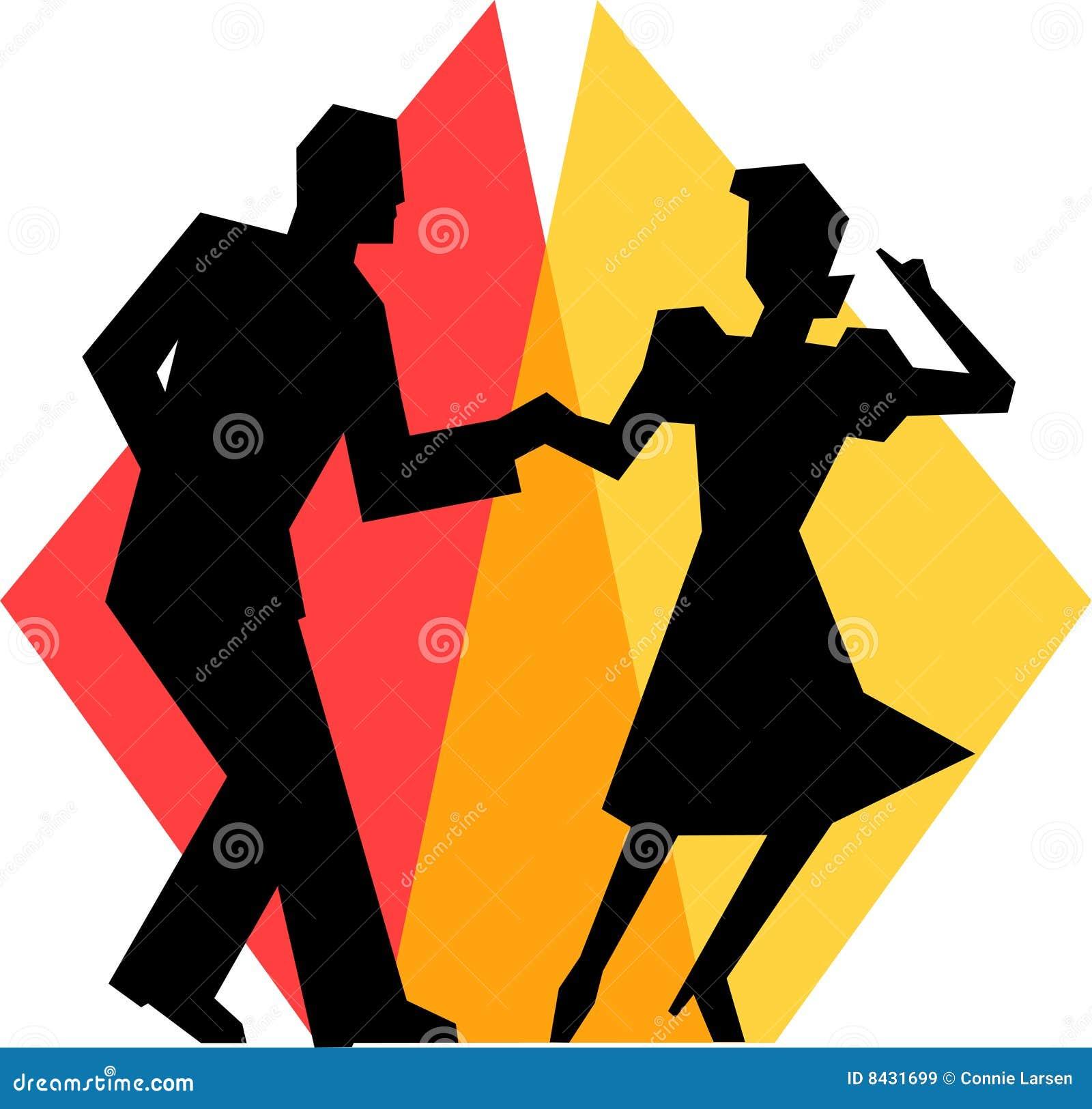 Simple Swing Dance Couple/eps