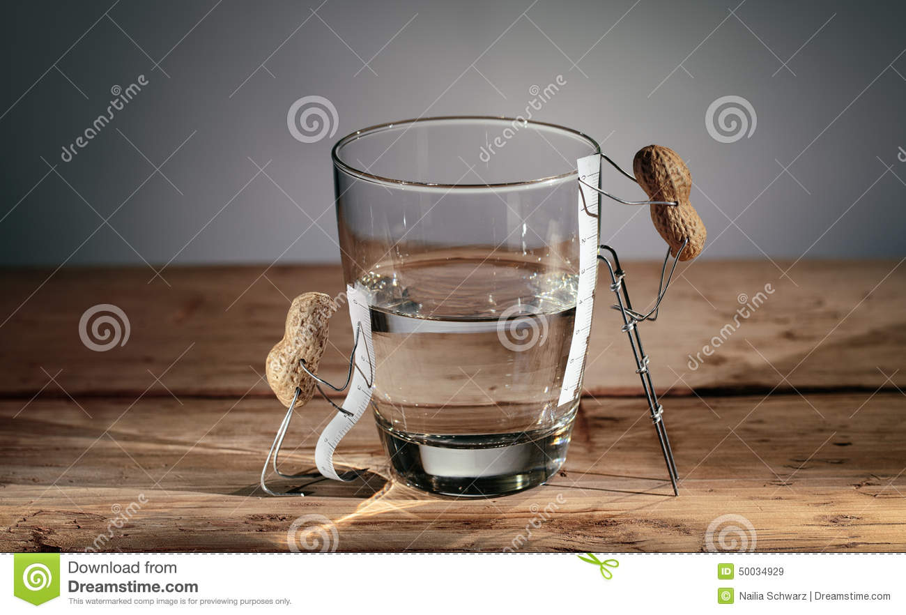 Simple things half empty or half full for Things that are empty