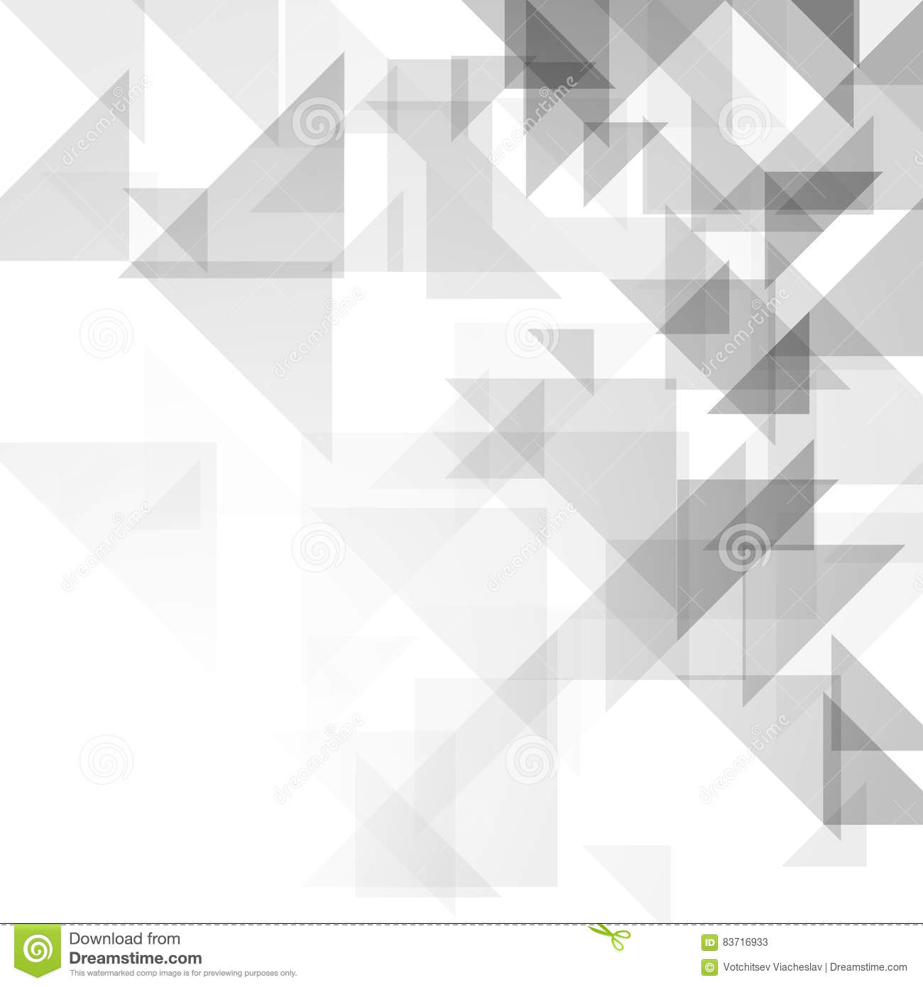 Simple Triangular Pattern Stock Vector