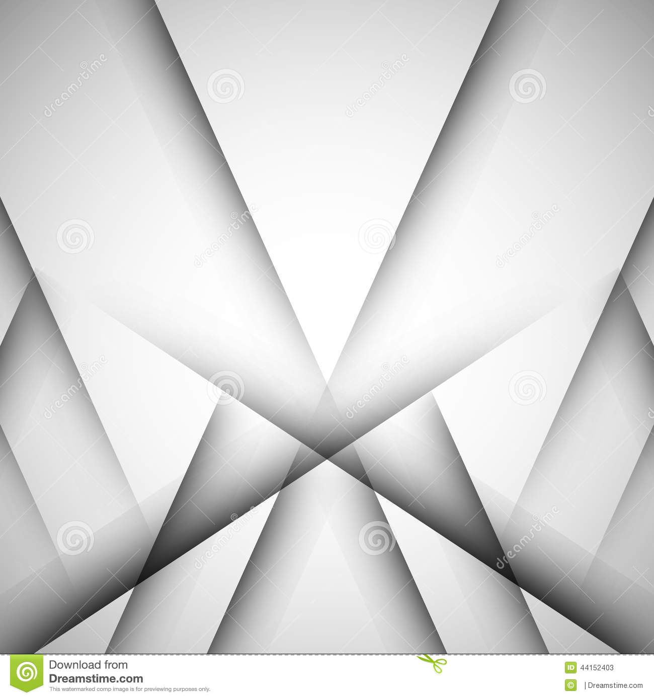Simple Vector Background Of Straight Gray Lines Stock
