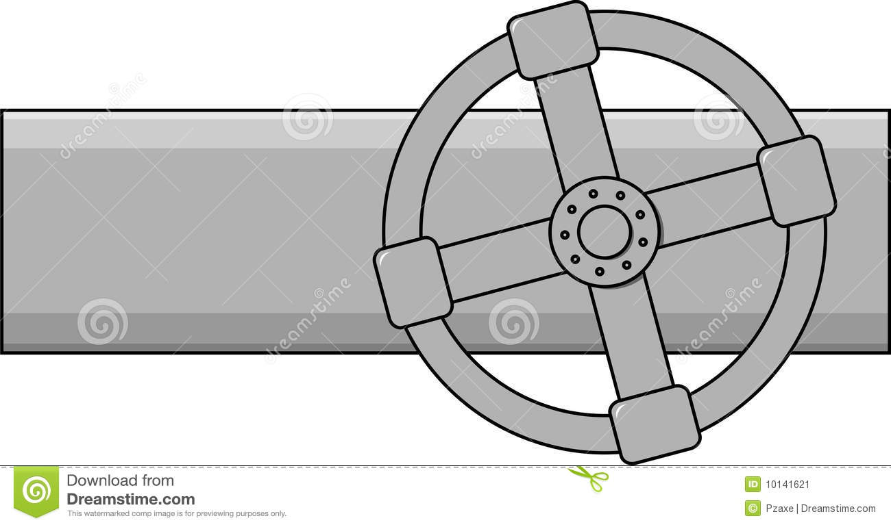 Simple Vector Gas Valve Stock Vector Illustration Of Fuel 10141621
