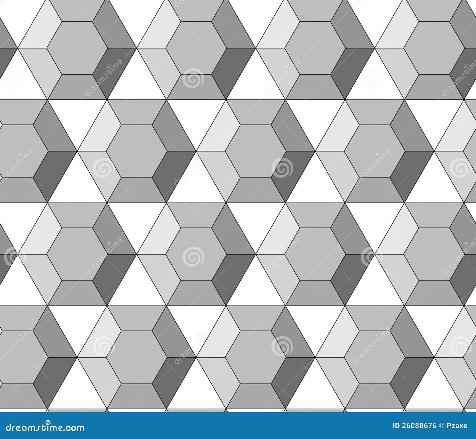 Royalty Free Stock Image  Simple vector pattern - hexagonal diamondsHexagonal Pattern Vector