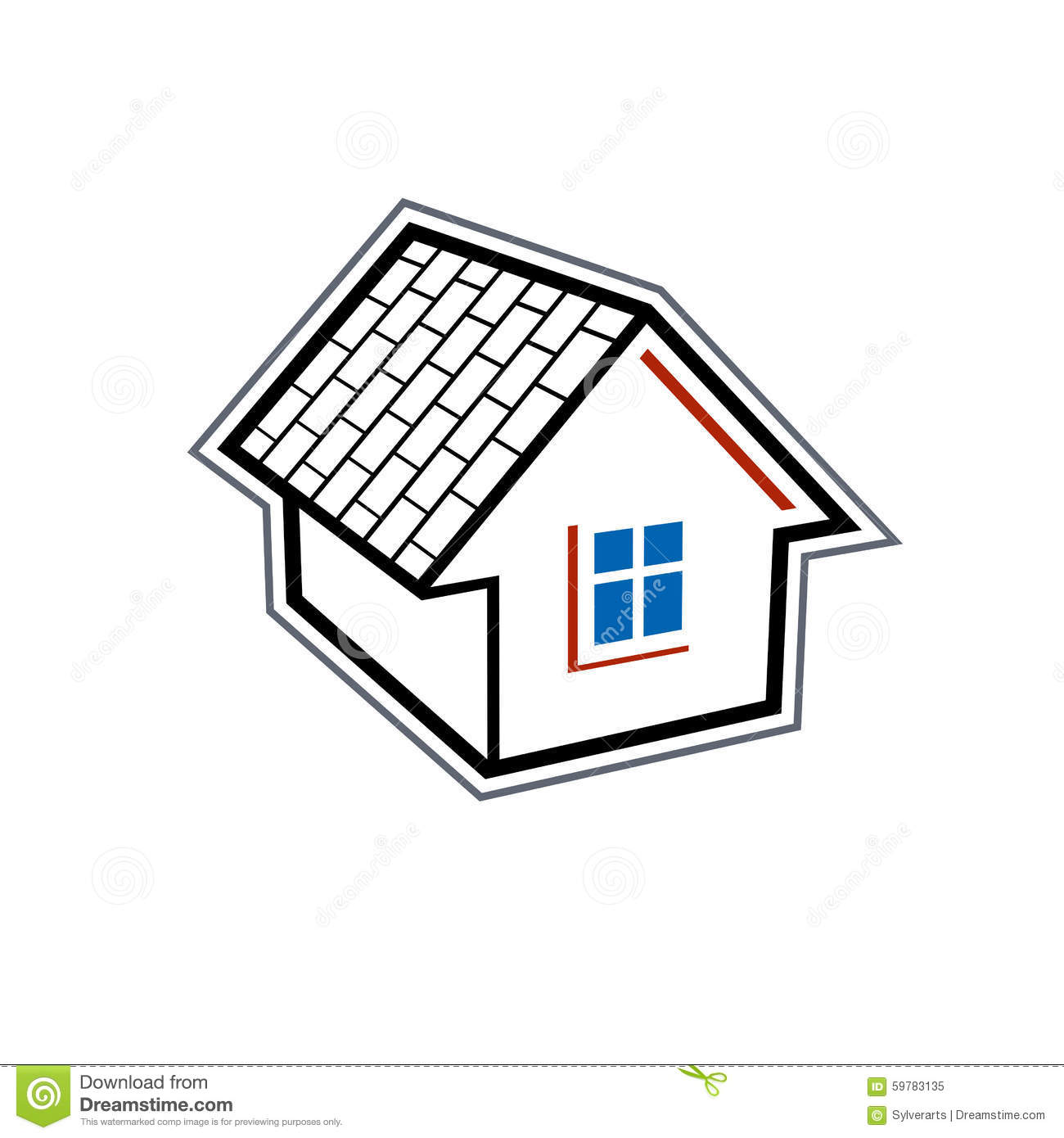 Simple House In Village Stock Photo Image - Simple village house design picture