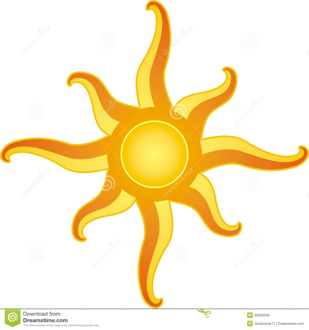 Clipart of a Retro Vintage Black and White Sun Shining on ... |Vintage Sun Illustration