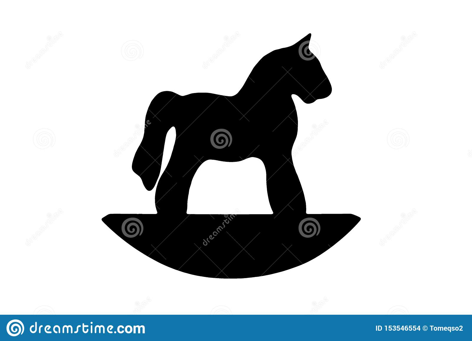 Rocking Horse Silhouette Photos Free Royalty Free Stock Photos From Dreamstime