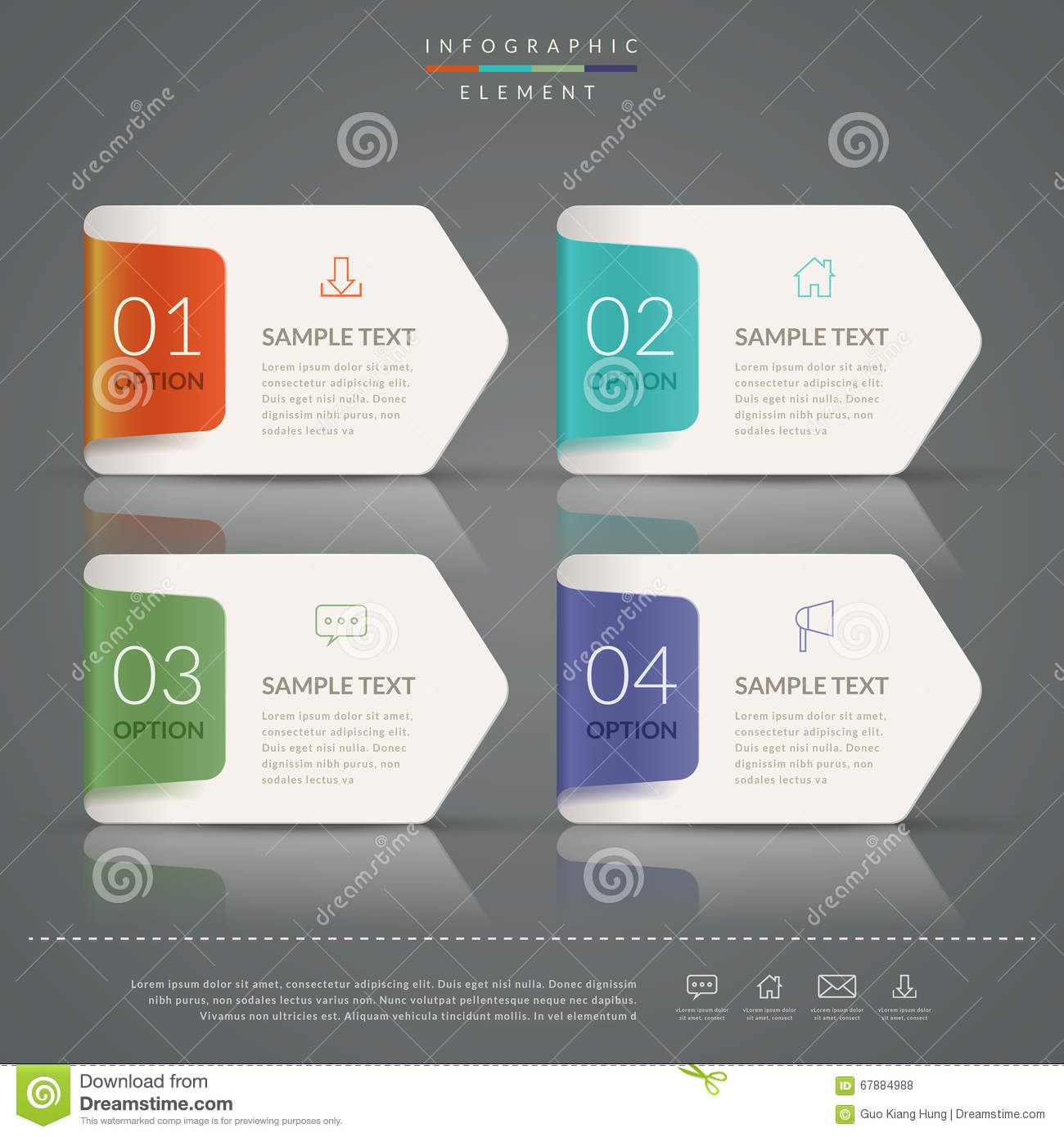 Simplicity infographic template