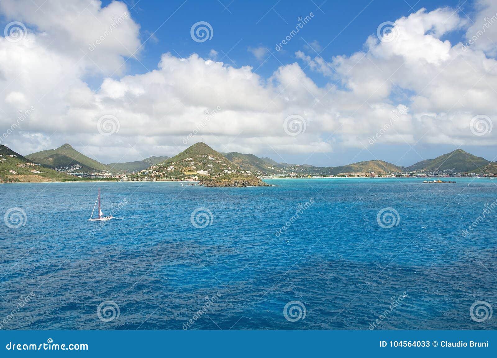 Simpson-Baai - Caraïbisch tropisch eiland - Zonde Maarten
