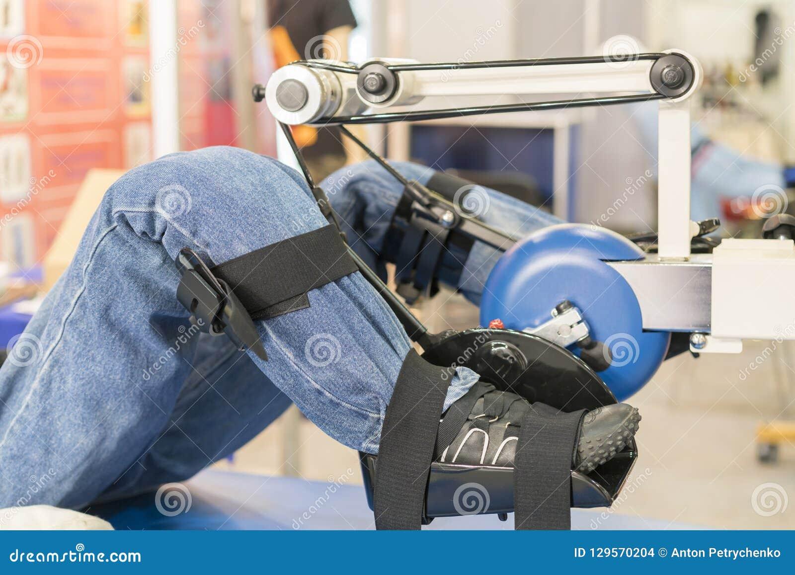 Simulador para a reabilitação do pé reabilitação dos membros feridos Manequim no instrumento para os pés de formação