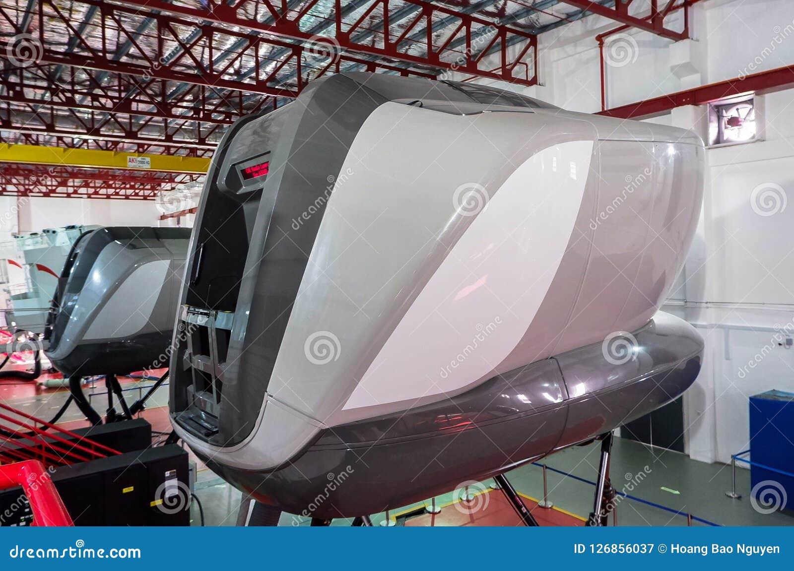 Simulatoren in der kanadischen Luftfahrt-Elektronik von Air Asia in Kuala Lumpur