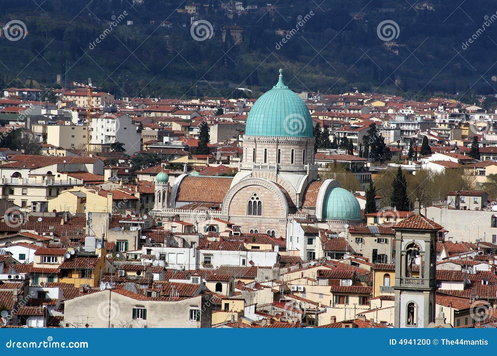 Sinagoga, Florencia, Italia